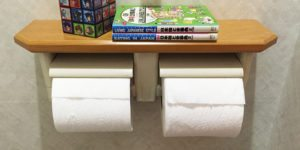 Rolls of toilet paper | Come walk with Sharon at SharonsWalkabout.com