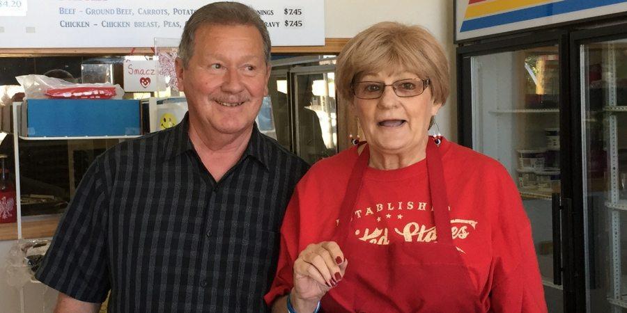 Jennie's Original Pierogies Staff with Sharon at sharonswalkabout.com